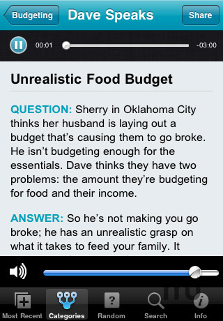 Screenshot 3 for Ask Dave Ramsey