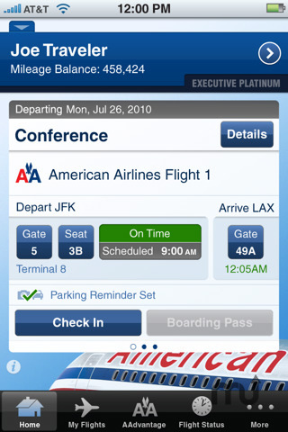 Screenshot 4 for American Airlines