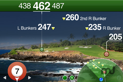 Screenshot 1 for Golfscape GPS Rangefinder