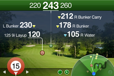 Screenshot 2 for Golfscape GPS Rangefinder