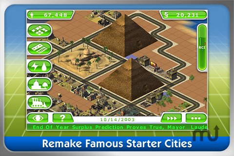 Screenshot 1 for SimCity Deluxe
