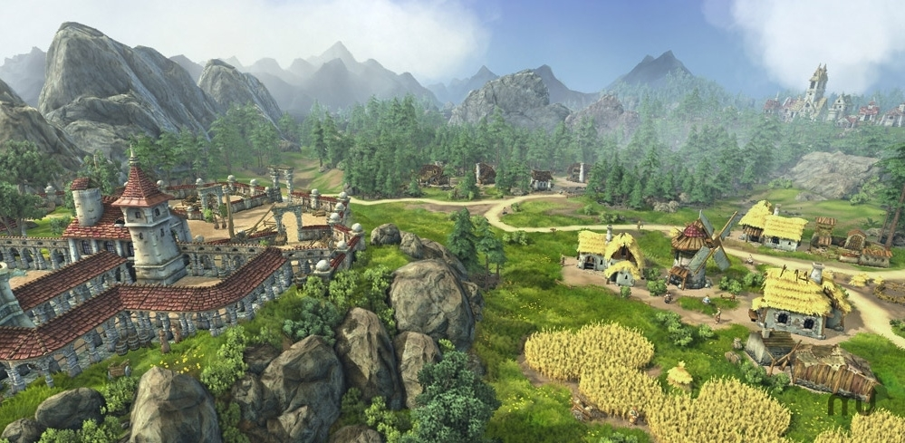 Screenshot 1 for The Settlers 7: Paths to a Kingdom