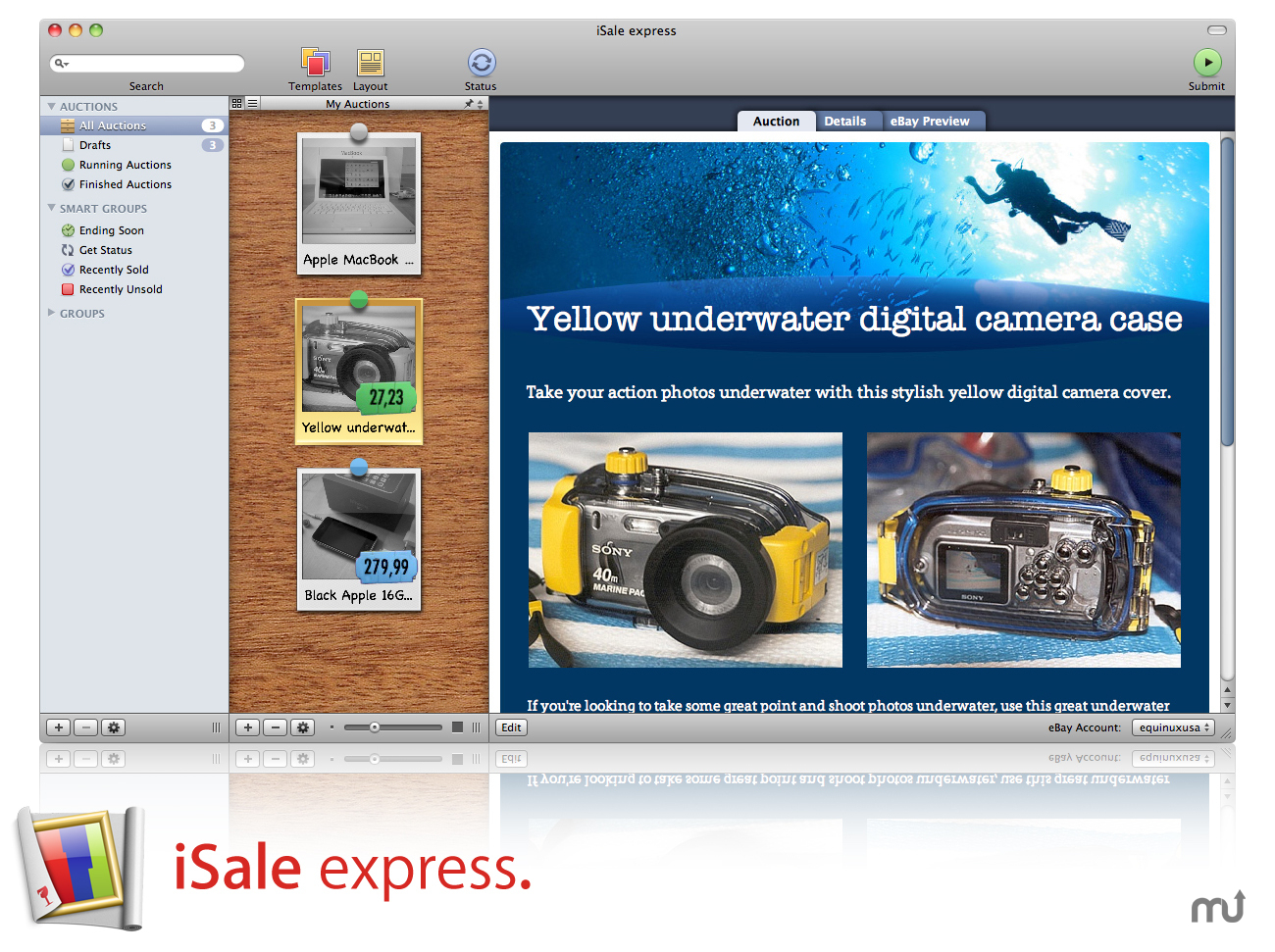Screenshot 1 for iSale express