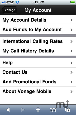 Screenshot 4 for Vonage Mobile for iPhone