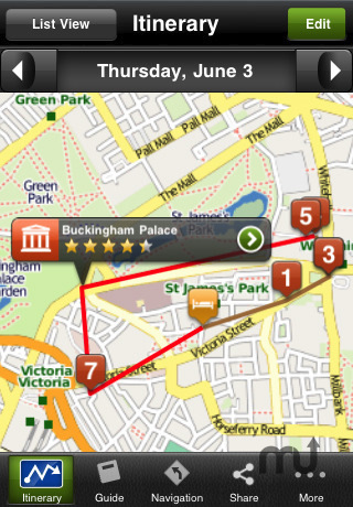 Screenshot 2 for London Travel Guide - mTrip