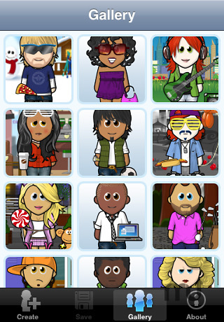Screenshot 3 for WeeMee Avatar Creator