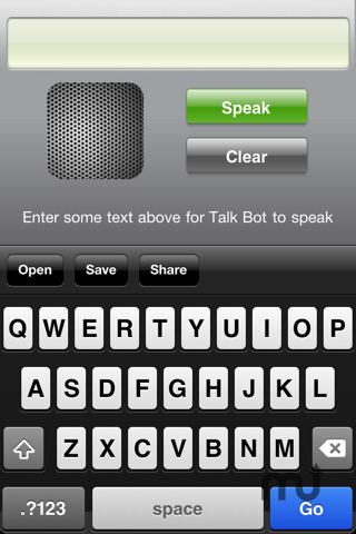 Screenshot 1 for Talk Bot