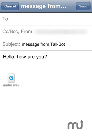 Screenshot 3 for Talk Bot