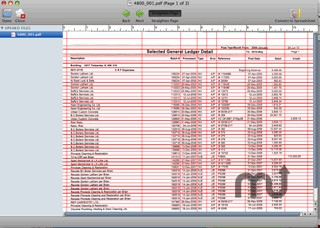 Screenshot 1 for PDF to Spreadsheet Pro