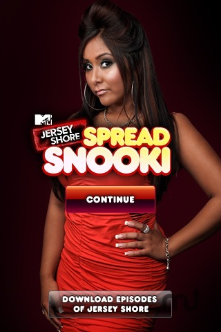 Screenshot 2 for MTV's Jersey Shore: Spread Snooki