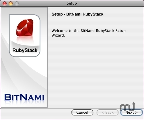 Screenshot 1 for BitNami RubyStack