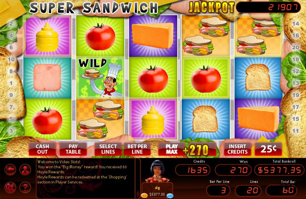 Screenshot 1 for Hoyle Slots 2011