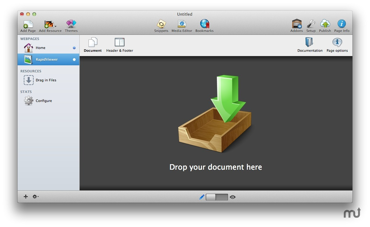 osx pdf viewer cant view type of document errro