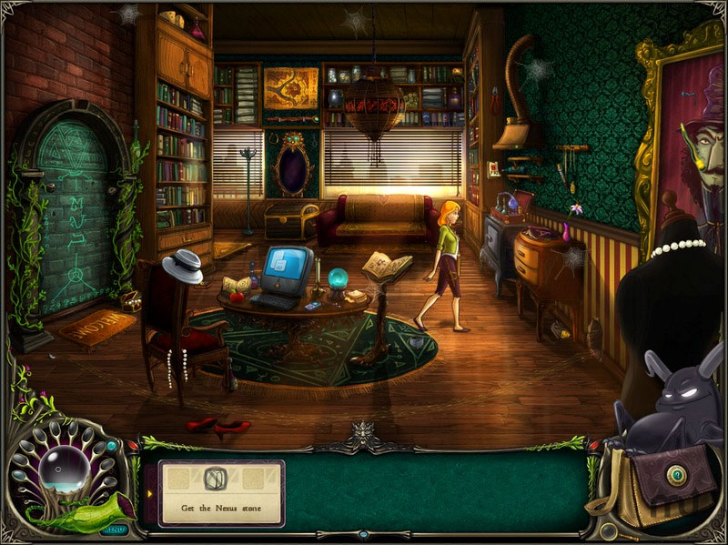 Screenshot 1 for Brunhilda and the Dark Crystal