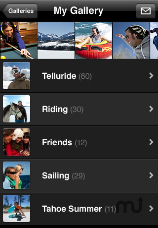 Screenshot 1 for Apple MobileMe Gallery