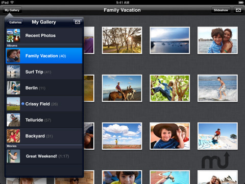 Screenshot 6 for Apple MobileMe Gallery