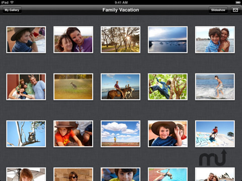 Screenshot 7 for Apple MobileMe Gallery