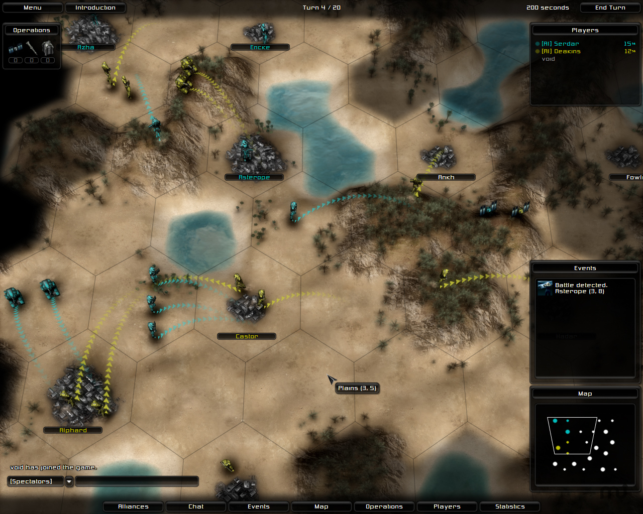 Screenshot 1 for Conquest: Divide and Conquer