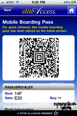 Screenshot 4 for Continental Airlines, Inc