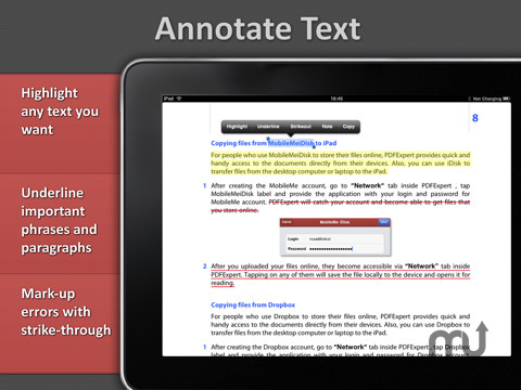 Screenshot 2 for PDF Expert for iPad