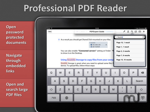 Screenshot 5 for PDF Expert for iPad
