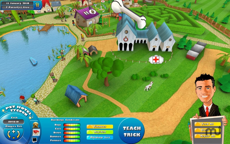 Screenshot 1 for Pet Hotel Tycoon