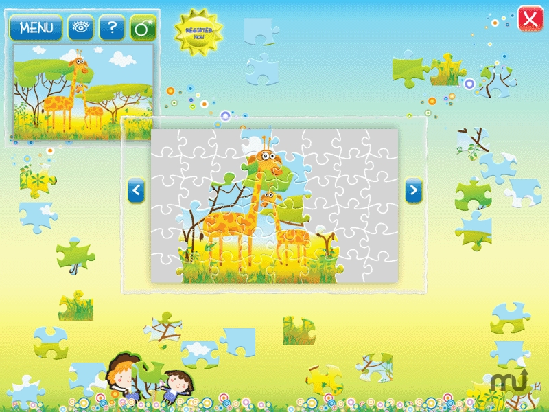 Screenshot 1 for Animals Puzzle