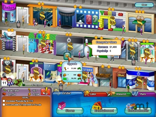 Screenshot 1 for Create a Mall