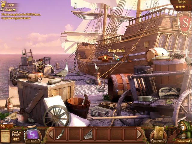 Screenshot 1 for Robin\'s Quest: A Legend Born