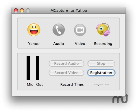 Screenshot 1 for IMCapture for Yahoo Messenger