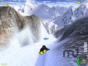 Screenshot 1 for ExtremeTuxRacer