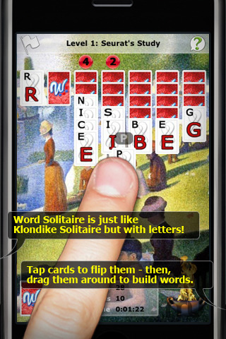 Screenshot 1 for Word Solitaire
