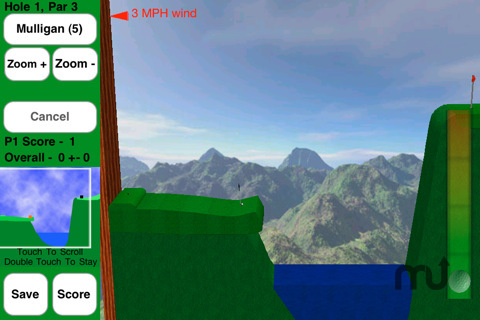 Screenshot 5 for Rocket Golf Lite