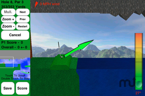 Screenshot 6 for Rocket Golf Lite