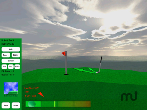 Screenshot 8 for Rocket Golf Lite