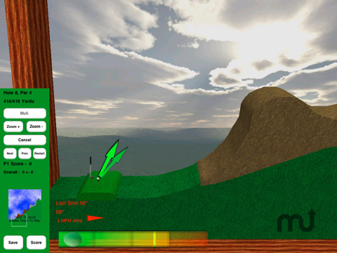 Screenshot 9 for Rocket Golf Lite