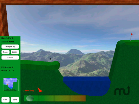 Screenshot 10 for Rocket Golf Lite