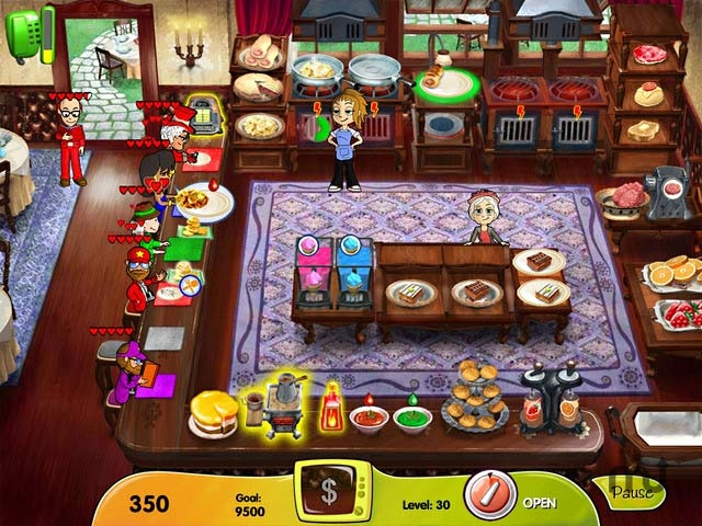 Screenshot 1 for Cooking Dash - DinerTown Studios