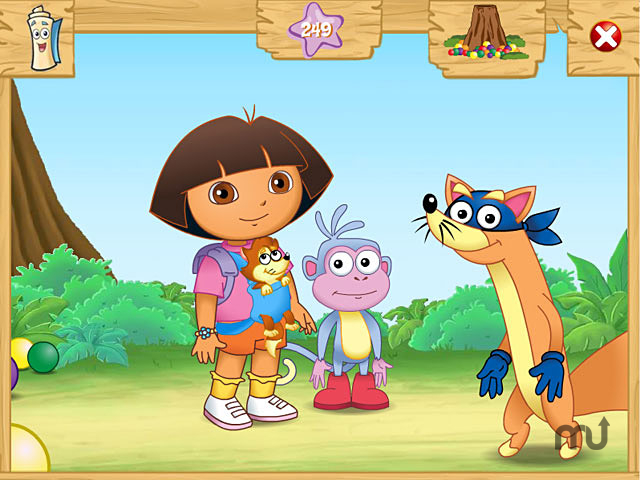 Screenshot 1 for Dora the Explorer: Swiper\'s Big Adventure!