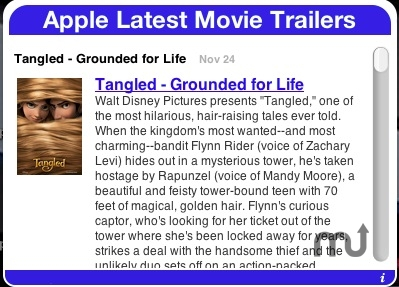 Screenshot 1 for Apple Latest Movie Trailers