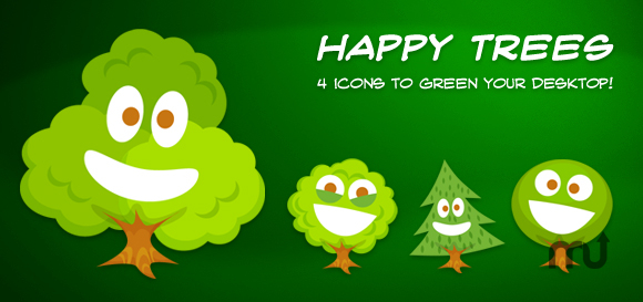 Screenshot 1 for Happy Tree Icons