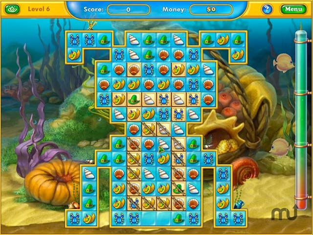 Screenshot 1 for Fishdom: Harvest Splash