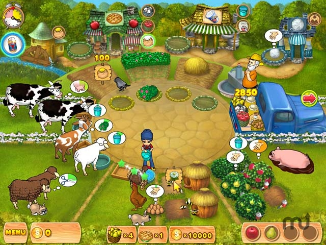 Screenshot 1 for Farm Mania