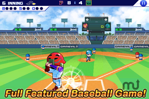 Screenshot 1 for Baseball Superstars 2011