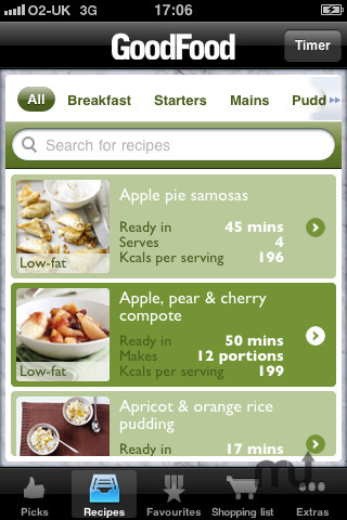 Screenshot 2 for Good Food Healthy Recipes