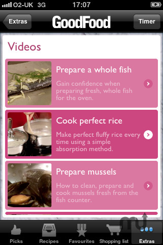Screenshot 4 for Good Food Healthy Recipes