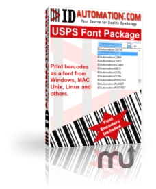 Screenshot 1 for USPS and Intelligent Mail Barcode Fonts
