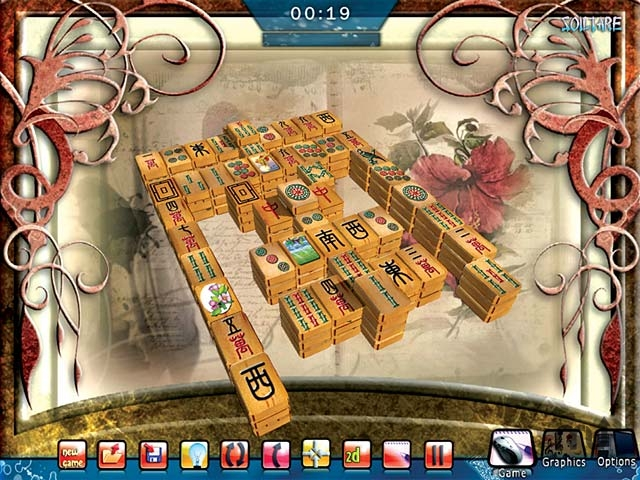 Screenshot 1 for Mahjongg Platinum 4