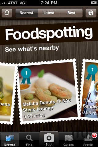 Screenshot 1 for Foodspotting