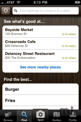 Screenshot 2 for Foodspotting